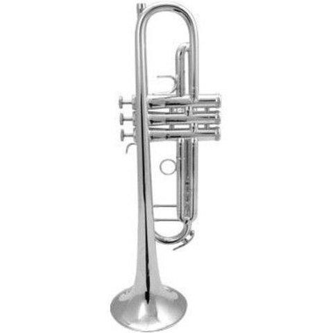 King K12 Bb Marching Trumpet, Standard Finish