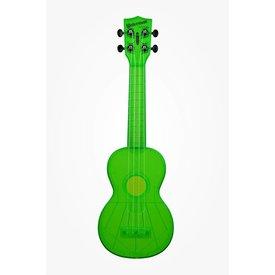 Kala Kala KA-SWF-GN Waterman Composite Soprano Ukulele, Fluorescent Green