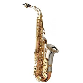 Yanagisawa Yanagisawa AW032 Professional Eb Alto Saxophone, Sterling Silver Neck & Bell