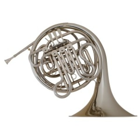 Holton H177 Professional F/Bb Double French Horn, Nickel Silver