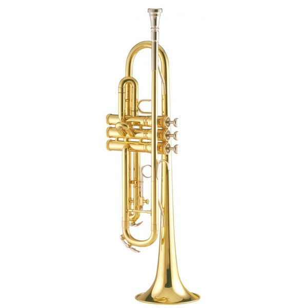King King 601N Student Bb Trumpet, Nickel Plated Pistons