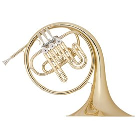 Holton Holton H650 Collegiate Student Single French Horn, Key of Bb, Small Throat, Standard Finish