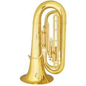 King King 1140MW Student Marching BBb Tuba, Standard Finish w/ Case