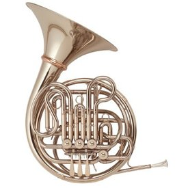 Holton Holton H277 Farkas Series Professional F/Bb Double French Horn, Nickel Silver, Detachable Bell