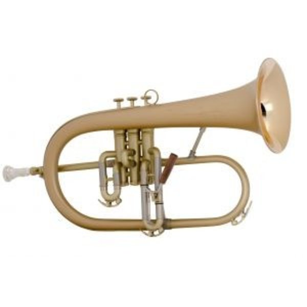 Conn Conn 1FRSLB Vintage One Professional Bb Flugelhorn, Satin Lacquer