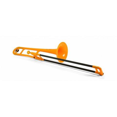 Jiggs pBone Plastic Trombone, Orange