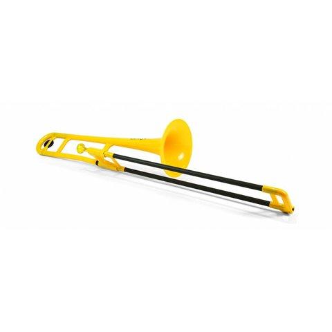 Jiggs pBone Plastic Trombone, Yellow