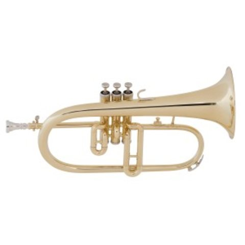 King 650 Diplomat Series Performance Bb Flugelhorn, Standard Finish