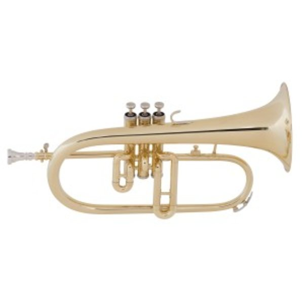 King King 650 Diplomat Series Performance Bb Flugelhorn, Standard Finish