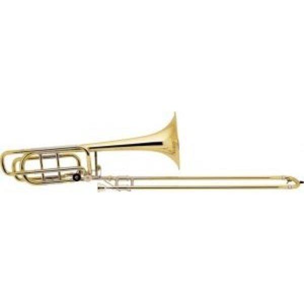 "Bach Bach 50B3LO Stradivarius Pro Bb/F/Gb Bass Trombone 10.5"" Bell Open Wrap"