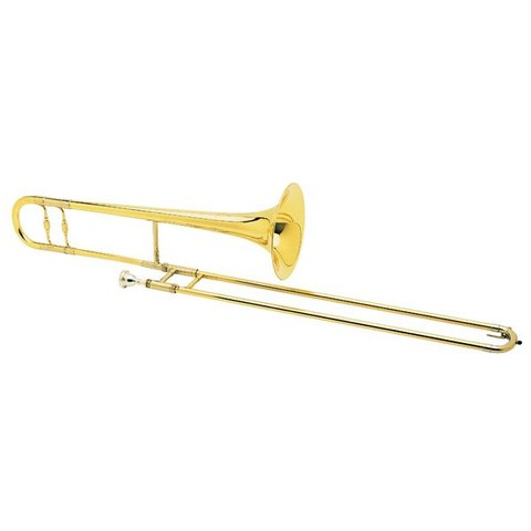 "Conn 100H Professional Tenor Trombone, 8"" Yellow Brass Bell"