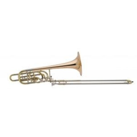 Holton TR181 Professional Bb/F/Gb/D Bass Trombone, Standard Finish