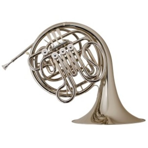 Holton H379 Farkas Perf F/Bb Double French Horn Large-Throated Bell Nckl Silver