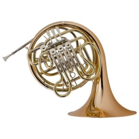 Holton H181 Professional F/Bb Double French Horn, Nickel Silver w/ Bronze Bell