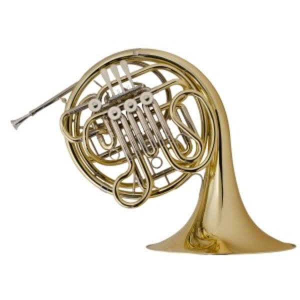 Holton Holton H180 Professional F/Bb Double French Horn, Yellow Brass