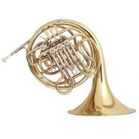 Holton H178 Professional F/Bb Double French Horn, Yellow Brass