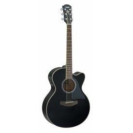 Yamaha Yamaha CPX500III BL Black Med-Jumbo Acoustic Electric Cutaway
