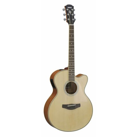 Yamaha CPX500III NA Natural Med-Jumbo Acoustic Electric Cutaway