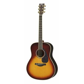 Yamaha Yamaha LL6 BS ARE L Series Rosewood Folk Acoust Brown Sunburst w/ Passive Pickup