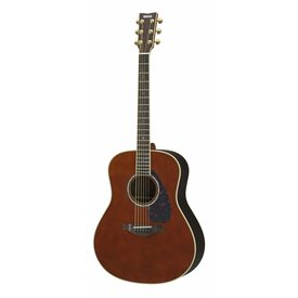 Yamaha Yamaha LL6 DARK TINTED ARE L Series Rosewood Folk, Dark Tinted w/ Passive Pickup