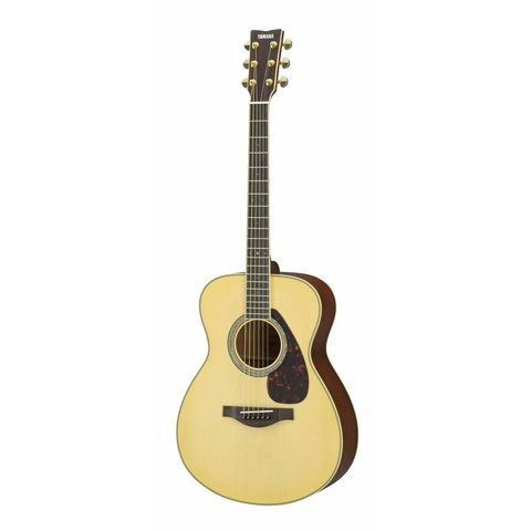 Yamaha LS6M ARE L Series Mahogany Small Body Acoustic Guitar
