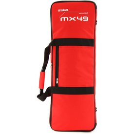Yamaha Yamaha MX49 Red Gig Bag w/ Shoulder Strap