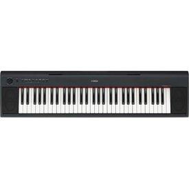 Yamaha Yamaha NP11 KIT 61-Key Entry-Level Piaggero Ultra-Portable Digital Piano w/ Survival Kit D2