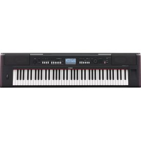 Yamaha Yamaha NPV80 KIT 76-Key High-Lvl Piaggero Ultra-Portable Dig Piano Surv Kit C2