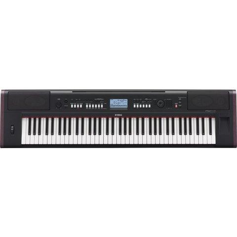Yamaha NPV80 KIT 76-Key High-Lvl Piaggero Ultra-Portable Dig Piano Surv Kit C2