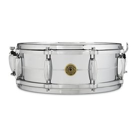 "Gretsch Drums Gretsch G4160 Chrome / Brass 5"" x 14"" 8 Lug Snare Drum"