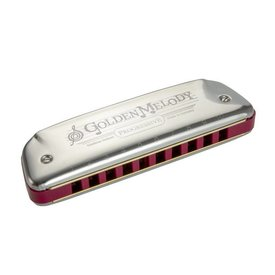Hohner Hohner 542PBX-A Golden Melody Harmonica Boxed Key of A