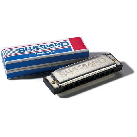 Hohner 1501BX-A Bluesband Harmonica Boxed Key of A
