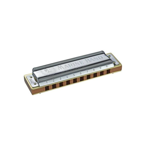 Hohner Hohner 1896BX-C# Marine Band Harmonica Boxed Key of C#