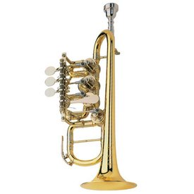 Scherzer Scherzer 8112-L Professional Bb/A Rotary Piccolo Trumpet