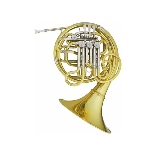 Hans Hoyer Hans Hoyer Custom Series 7801NS Professional F/Bb Double French Horn