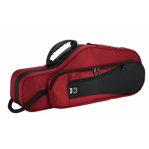 Kaces KBF-RAS4 Alto Saxophone Case, Red