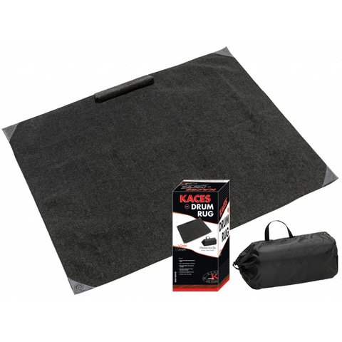 Kaces KCP-5 Professional Drum Rug, Black