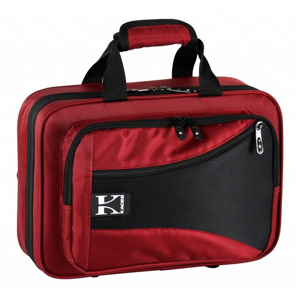 Ace Kaces KBF-RCL4 Bb Clarinet Case, Red