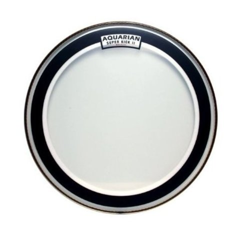 Aquarian SKII22 Super-Kick II Double Ply Bass Drumheads 22""