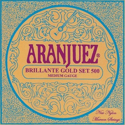 Aranjuez Brillante Gold Set 500