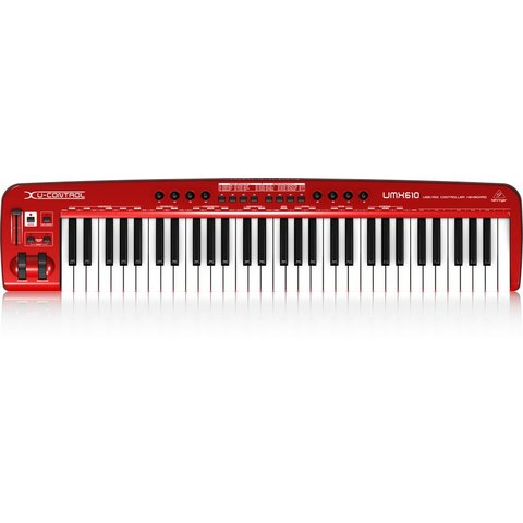 Behringer UMX610 61-Key USB/MIDI Controller KB
