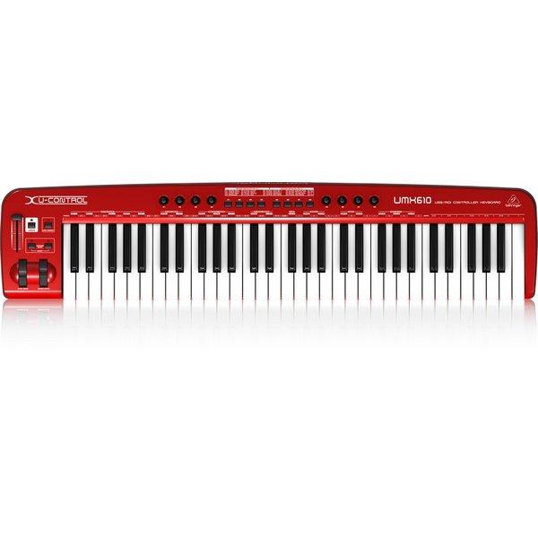 Behringer Behringer UMX610 61-Key USB/MIDI Controller KB