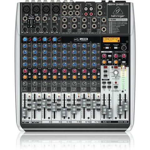 Behringer QX1622USB 16-Input 2/2-Bus Mixer, XENYX