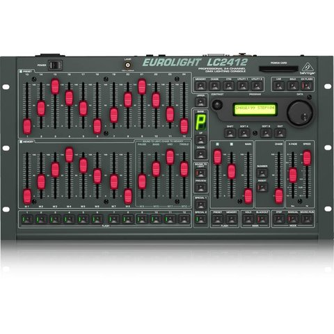 Behringer LC2412 24-Ch DMX Lighting Console