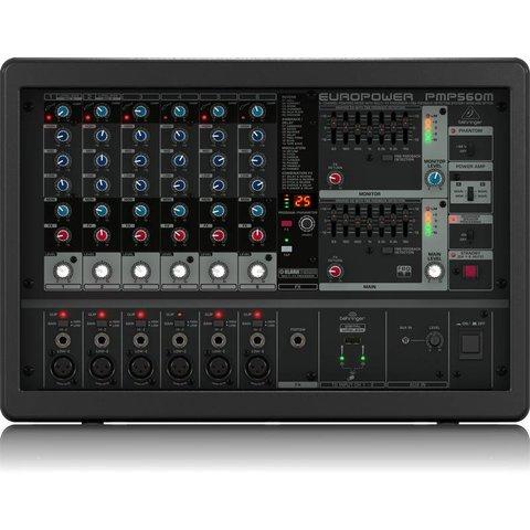 Behringer PMP560M 500W 6-Channel Mixer, M-FX