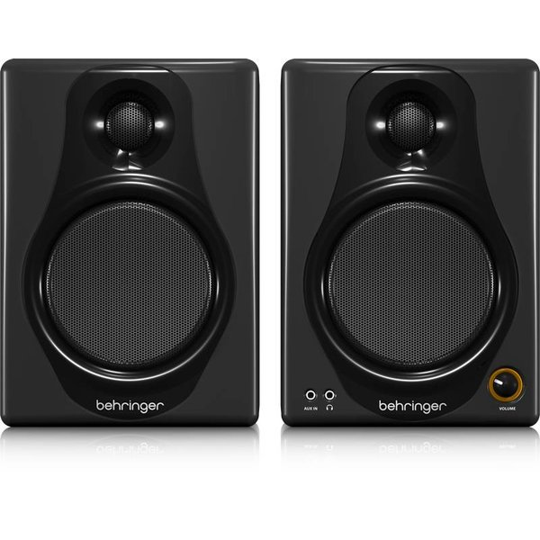 Behringer Behringer MEDIA40USB High-Res 40W Bi-Amp Speakers/USB