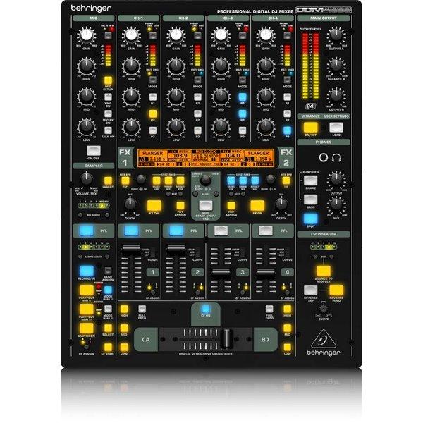 Behringer Behringer DDM4000 5-Channel DJ Mixer w/Sampler