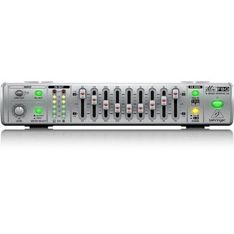 Behringer FBQ800 UC 9-Band G Equalizer - FBQ