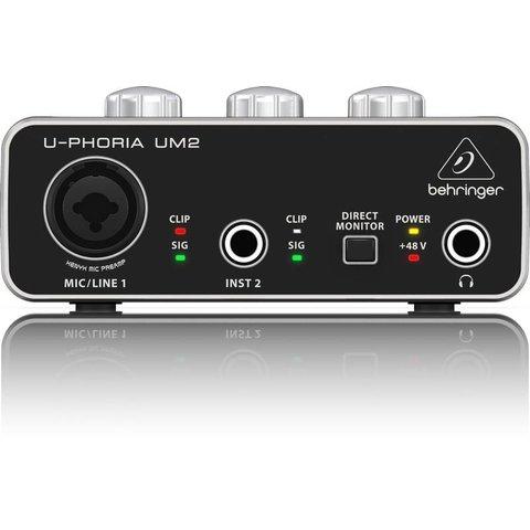 Behringer UM2 2x2 USB 2 A Interface-XENYX