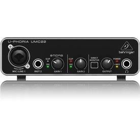 Behringer Behringer UMC22 2x2 USB 2 Interface 28K Midas